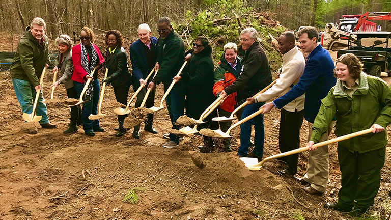 Panola Mountain Greenway Trail Groundbreaking Ceremony